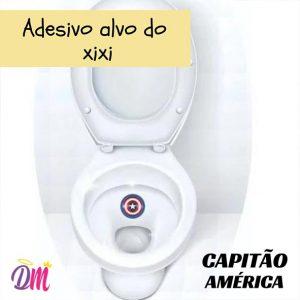 ADESIVO INCENTIVO XIXI – CAPITÃO AMÉRICA